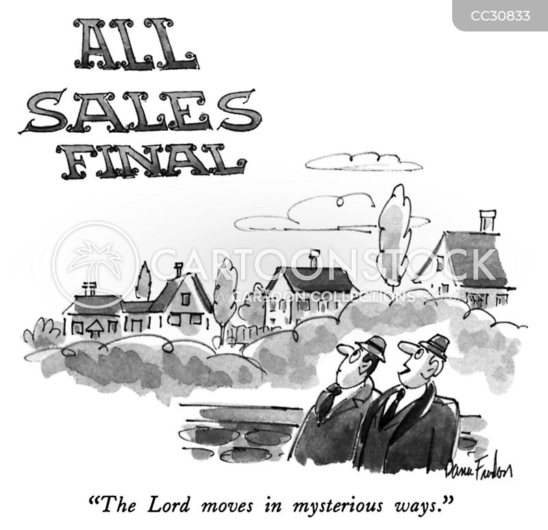 All Sales Final cartoon