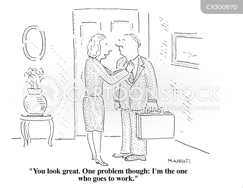career woman cartoon