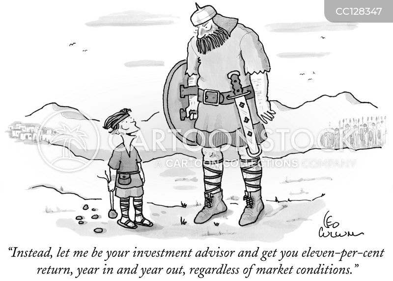 investors cartoon