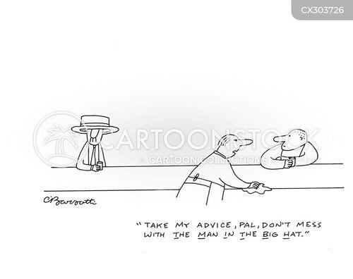 dangerous men cartoon