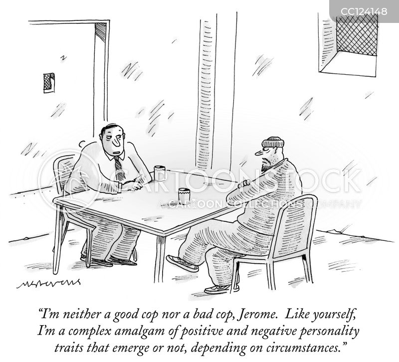 personality traits cartoon