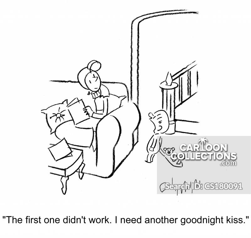 goodnight kisses cartoon