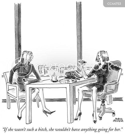corporate hierarchies cartoon