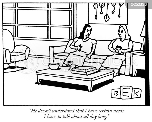 emotionally needy cartoon