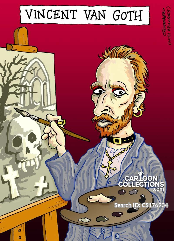gothics cartoon