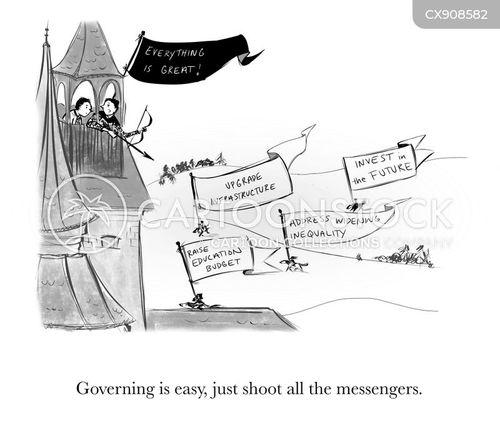 messengers cartoon