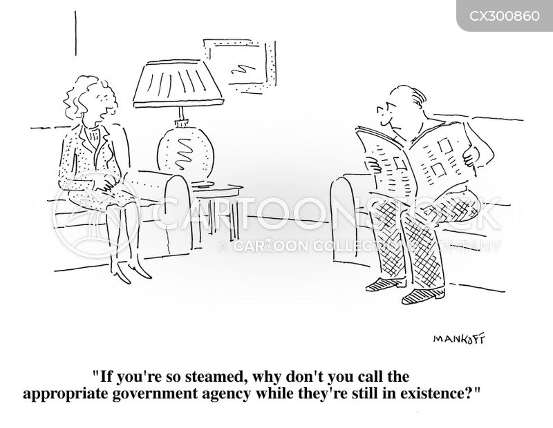 government department cartoon