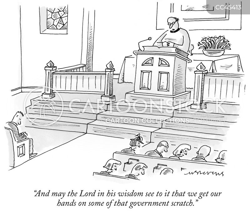 preachers cartoon