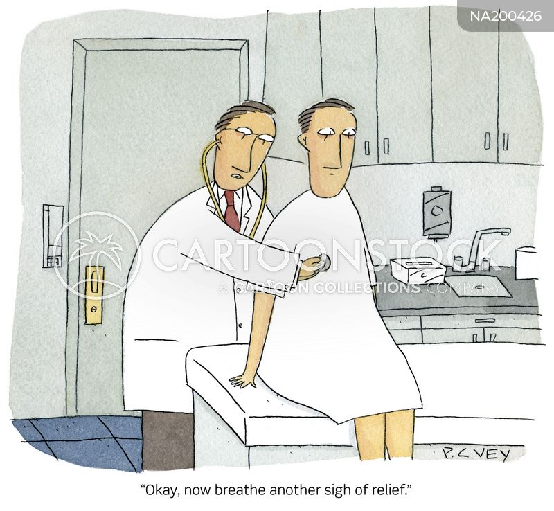 symptoms cartoon