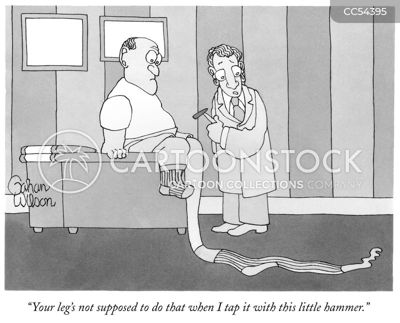 Knee Hammer cartoon