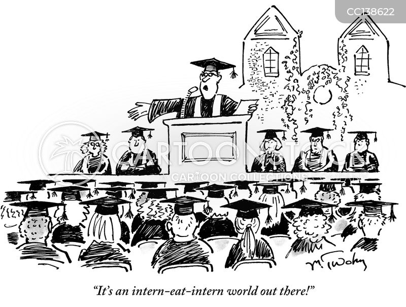 commencement cartoon