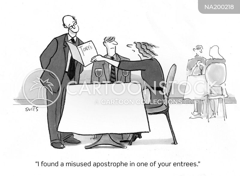 grammarians cartoon
