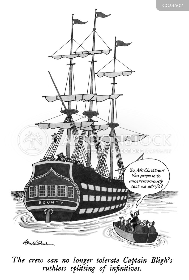 captain bligh cartoon