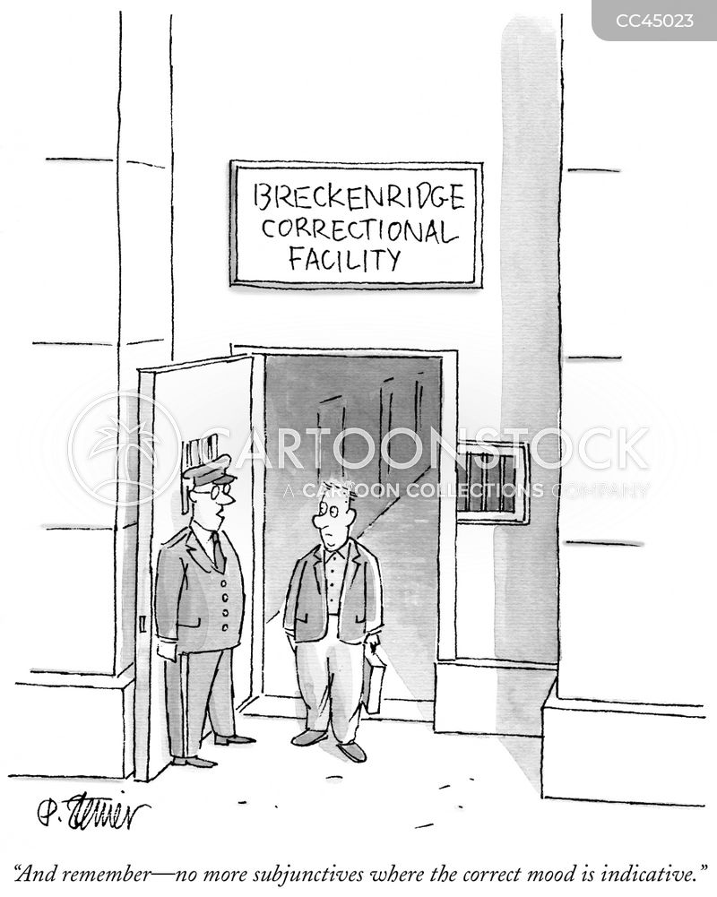 subjunctive cartoon