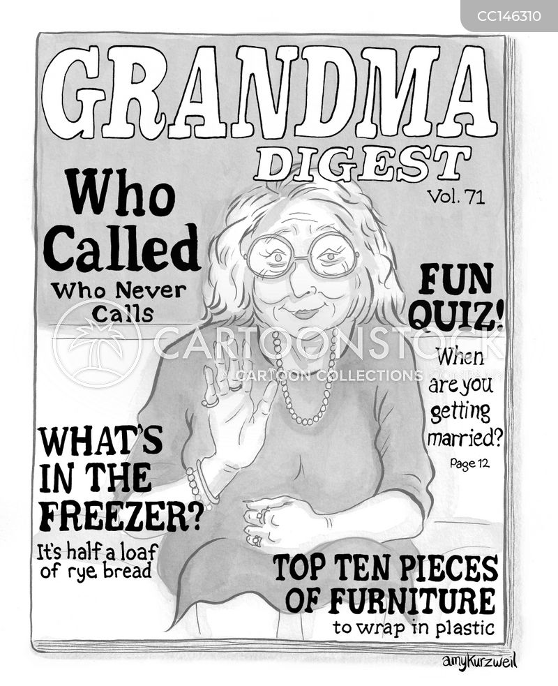 grannies cartoon