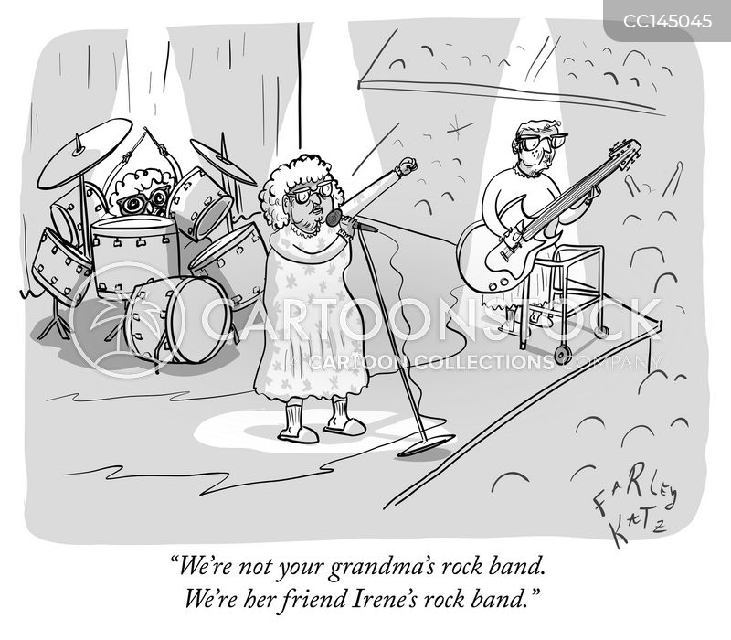grandmothers cartoon