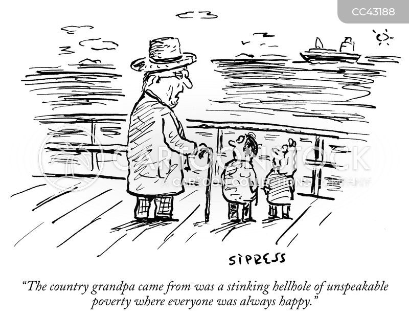 grandfather cartoon