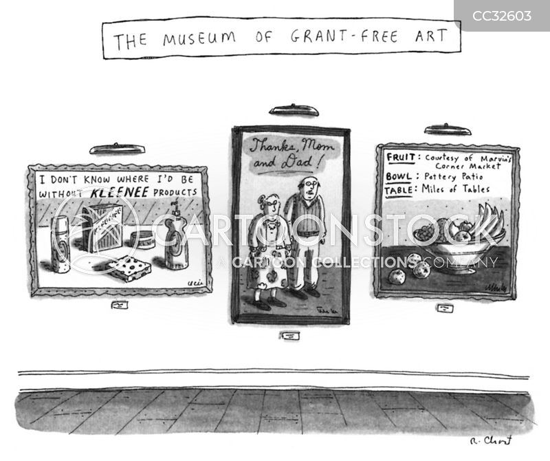 Advertisements cartoon