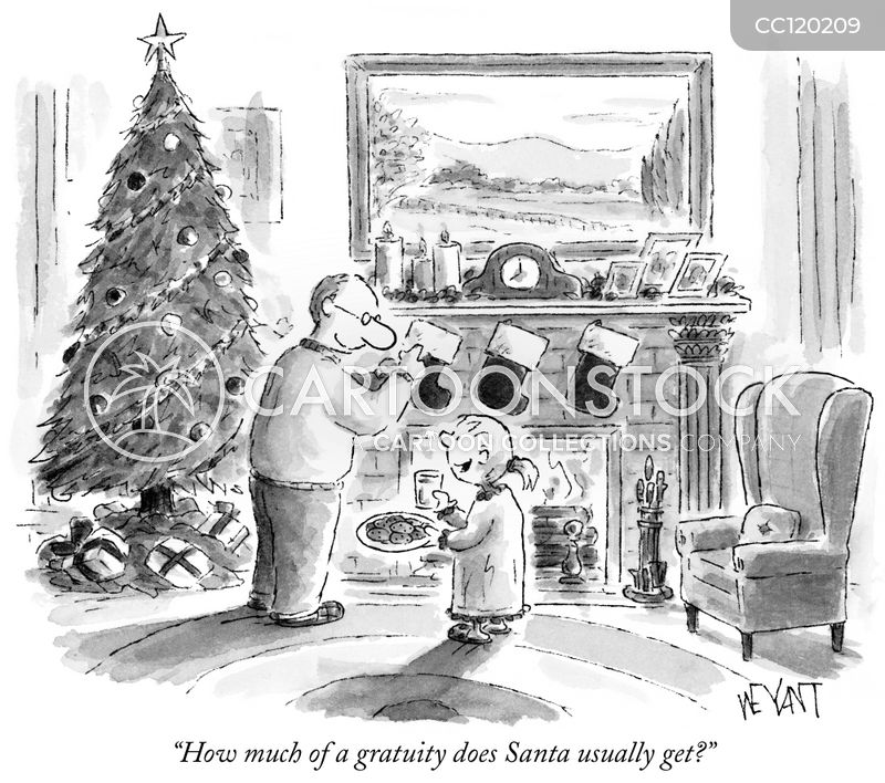 gifts cartoon