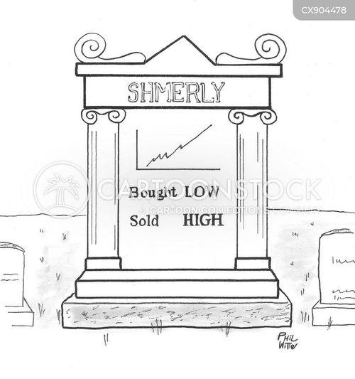 gravestones cartoon