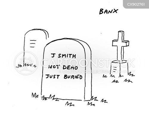 buried cartoon