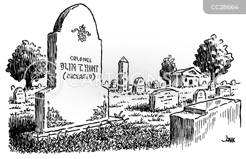 headstones cartoon
