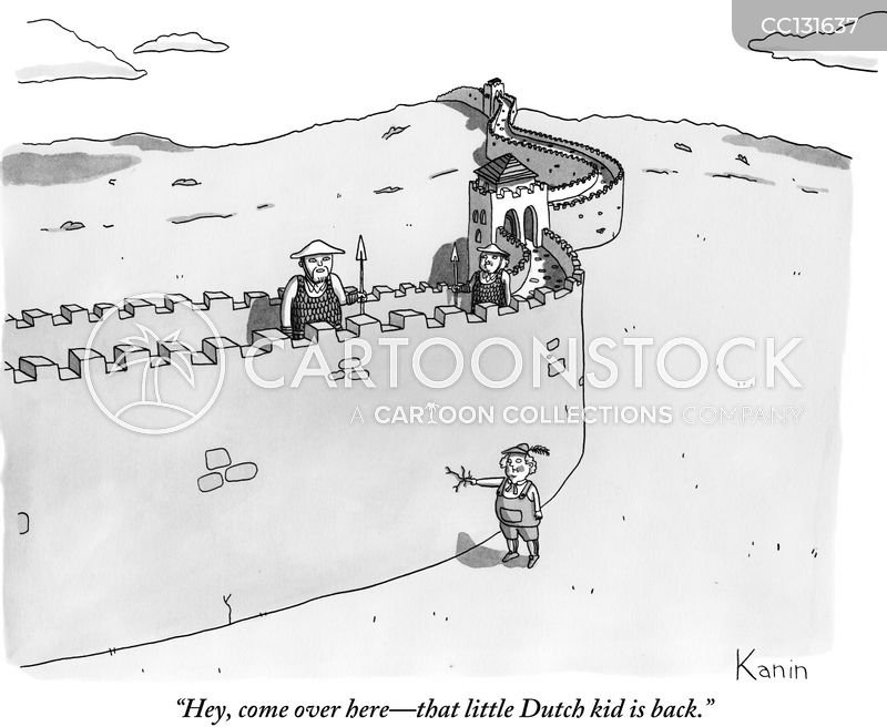 Dutch Boy cartoon