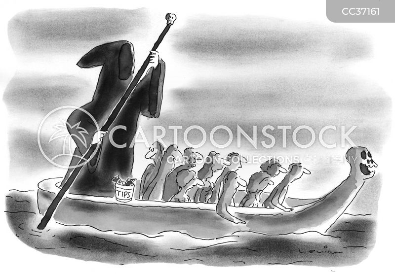 ferryman cartoon
