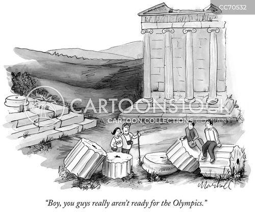 ruins cartoon