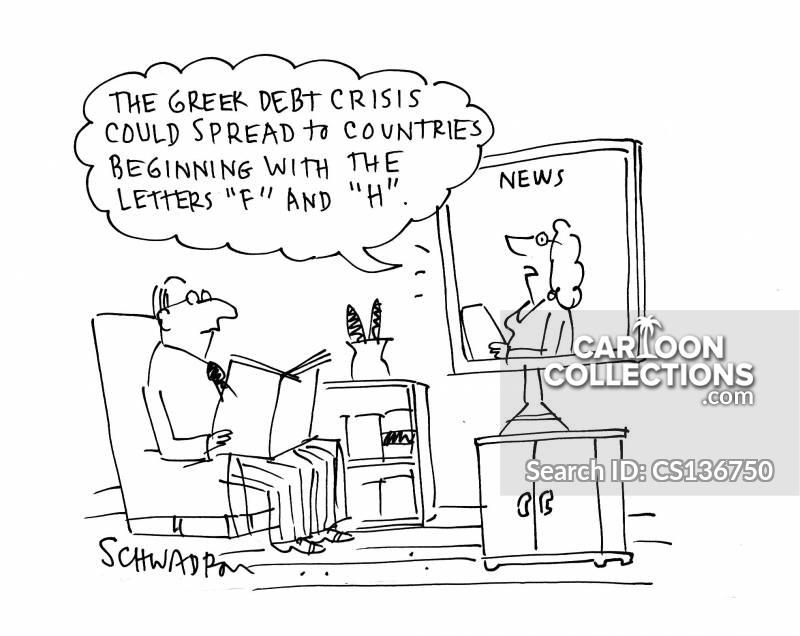 greek crisis cartoon