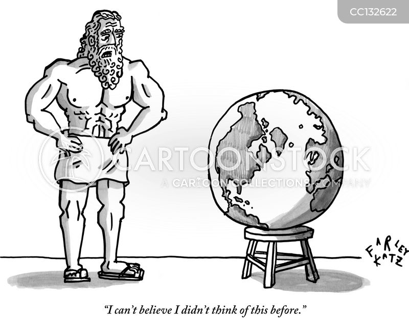 greek god cartoon