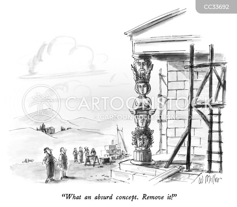 totem poles cartoon