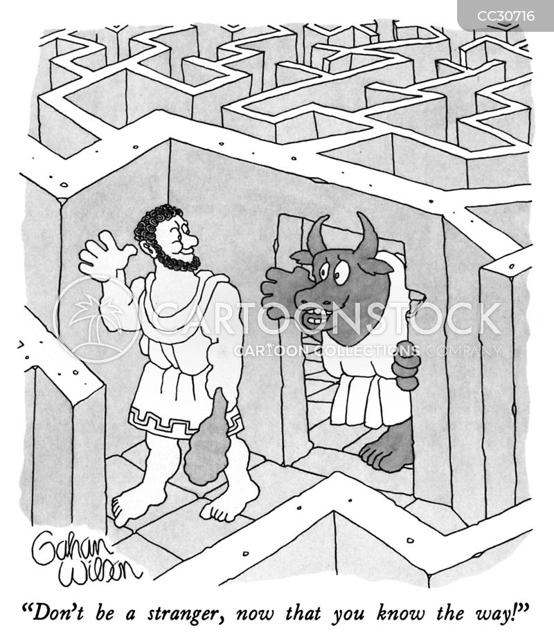 maze cartoon