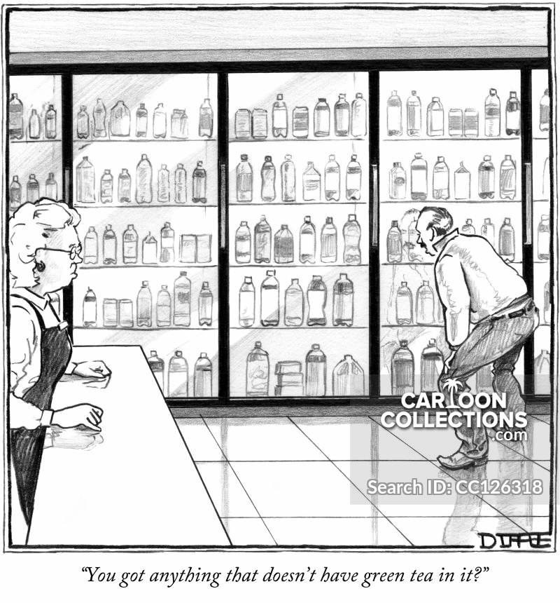 health food cartoon