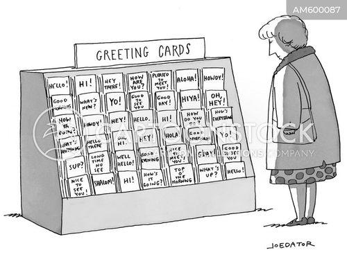 greetings card cartoon