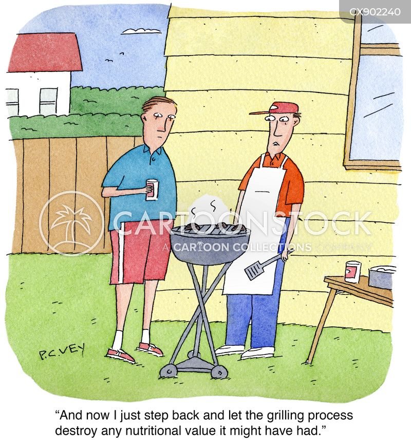 summer foods cartoon