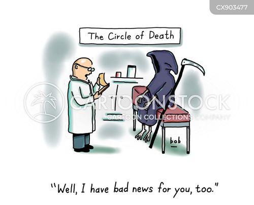 angel of death cartoon