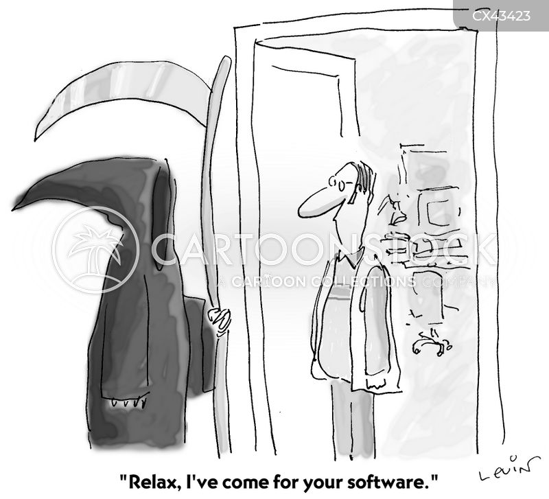 obsolete technology cartoon