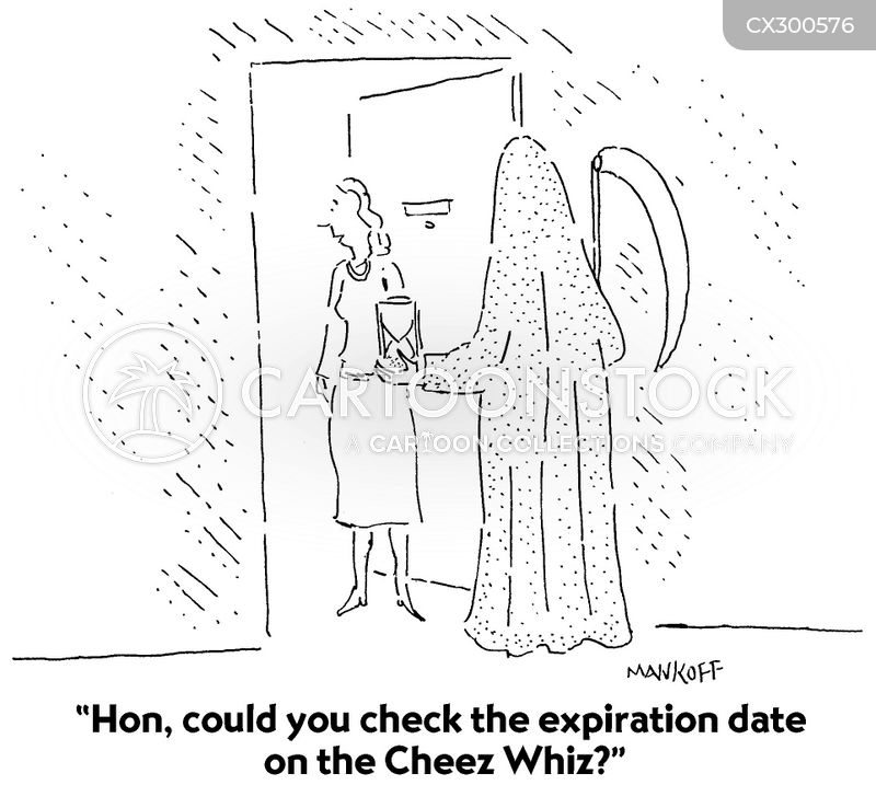 expiring cartoon