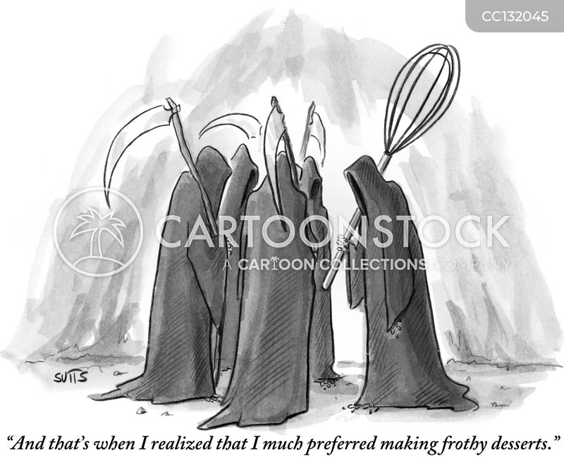 scythe cartoon