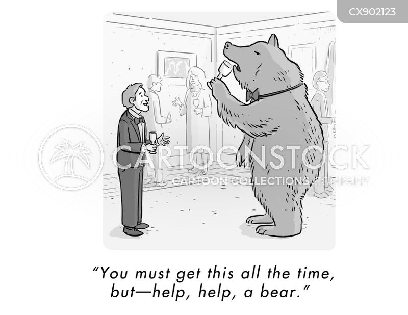Grizzly cartoon