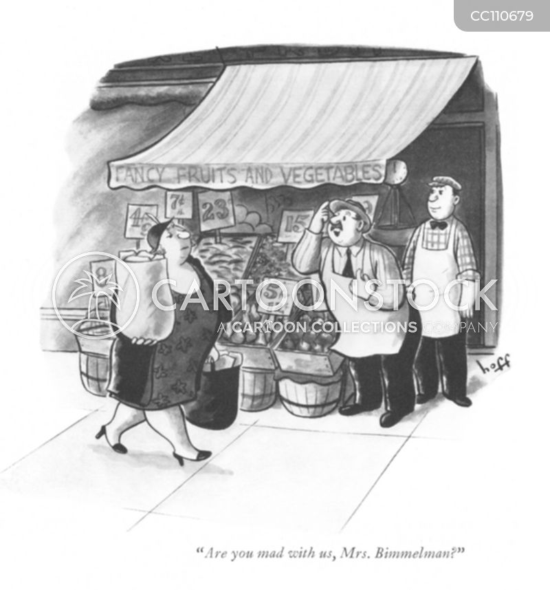 grocers cartoon