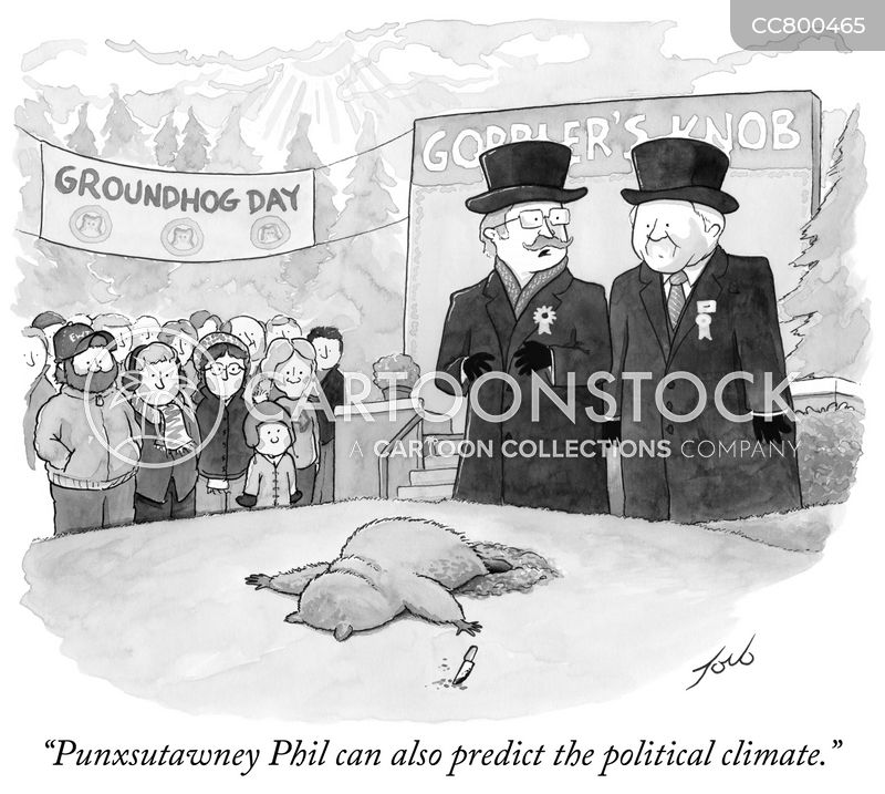 groundhogs cartoon