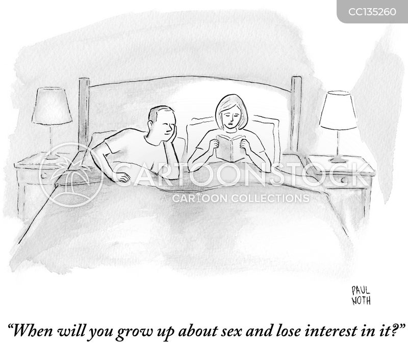 lose interest cartoon