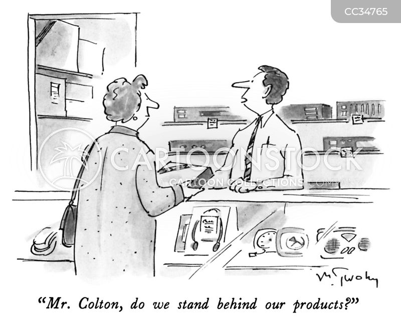 product cartoon