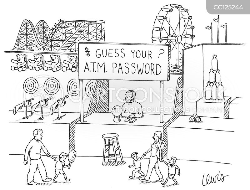 Credit Cards cartoon