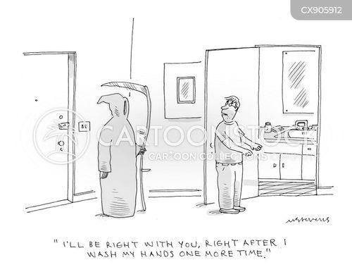 wash your hands cartoon