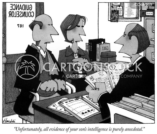 bad students cartoon