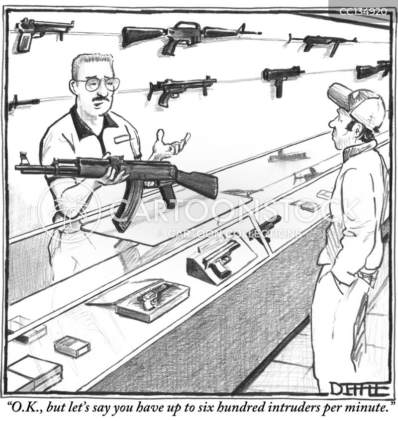 right to bear arms cartoon