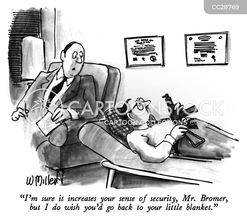 security blankets cartoon